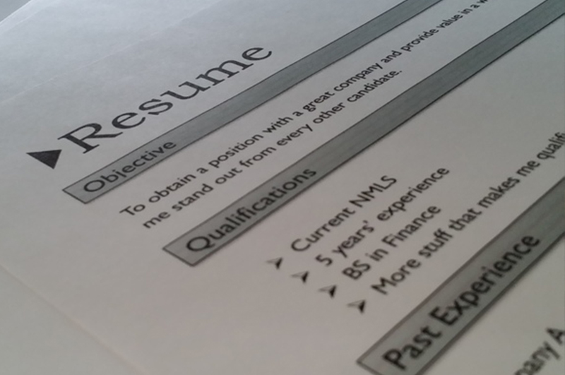 Believe it or not: A CV can lie